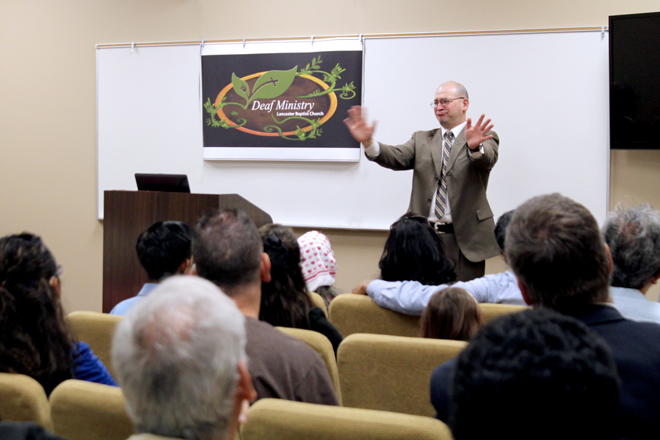 First Deaf Ministry Service
