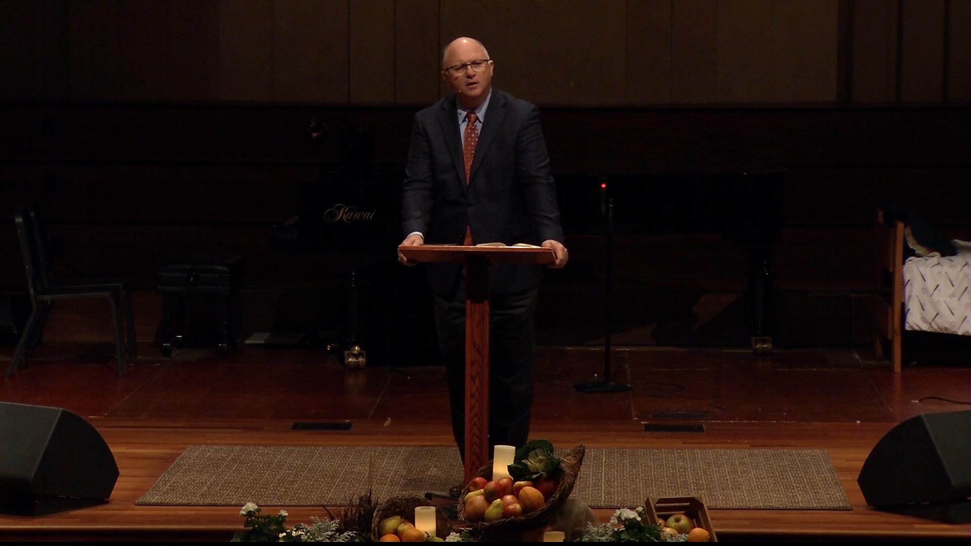 Pastor Paul Chappell: Thanksgiving