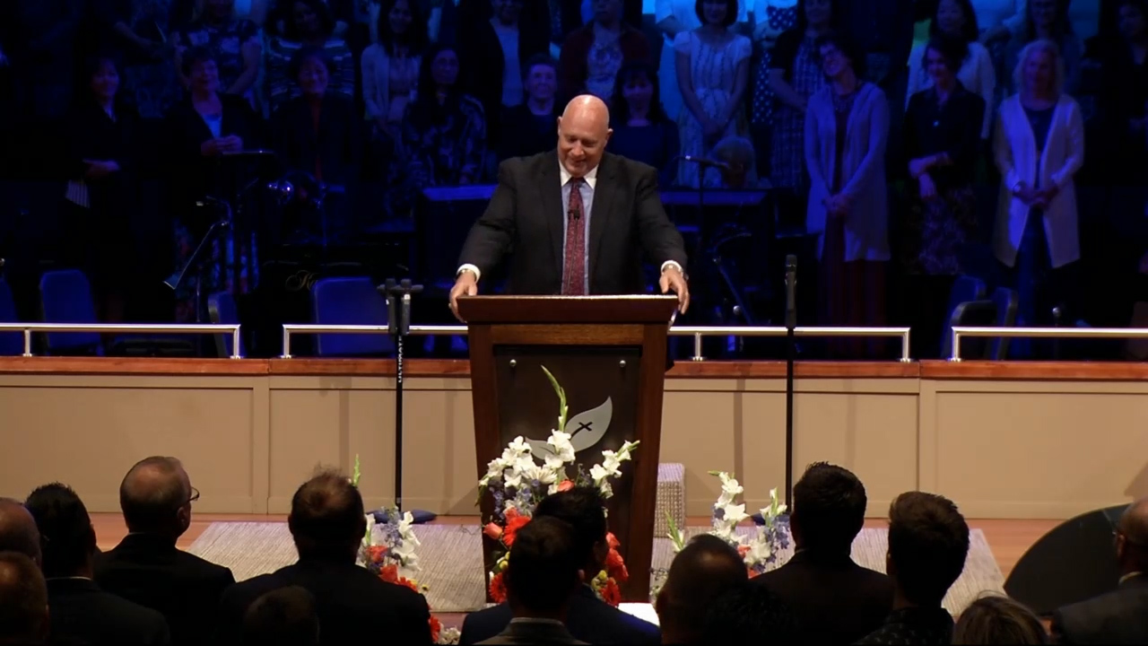 Dr. R.B. Ouellette: SLC 2019 Tuesday Evening Service