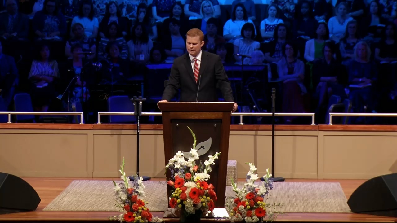 Tyler Gillit: SLC 2019 Tuesday Evening Service