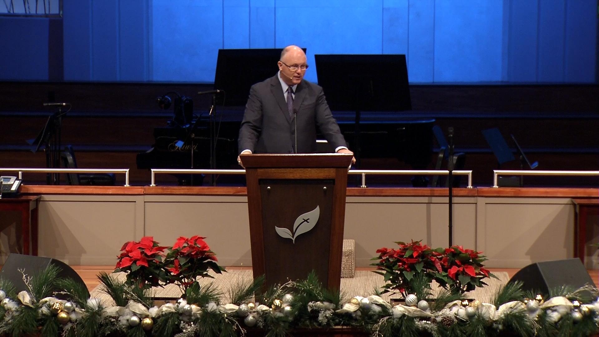 Pastor Paul Chappell: The Arrival of God Incarnate