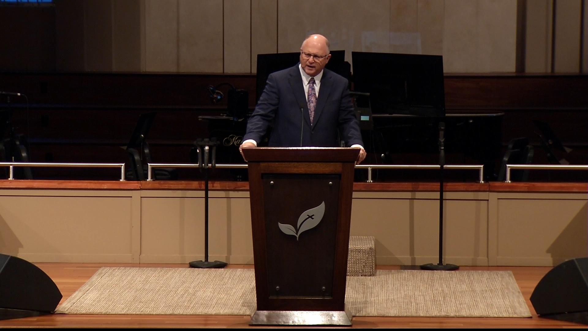Pastor Paul Chappell: Building for the Children