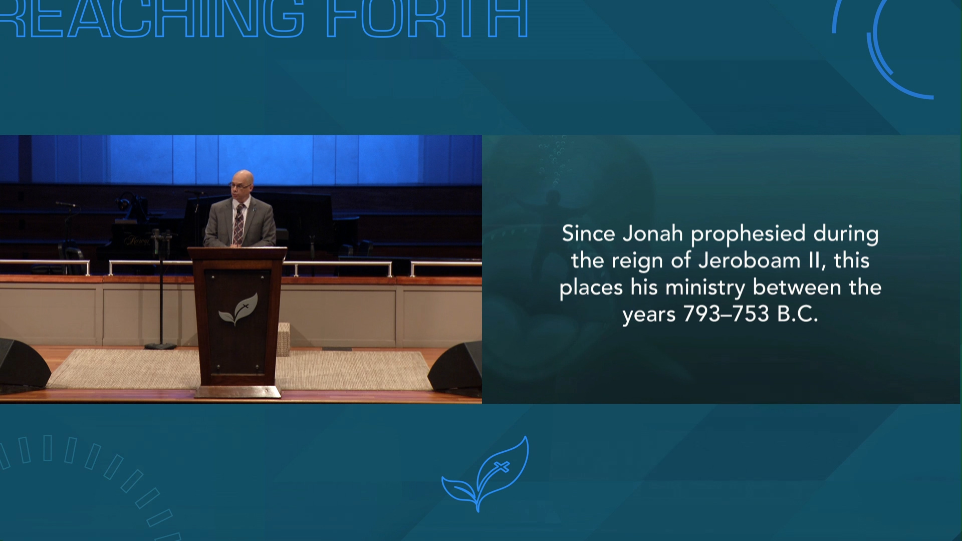 Dr. Mike Lester: Jonah—The Reluctant Missionary