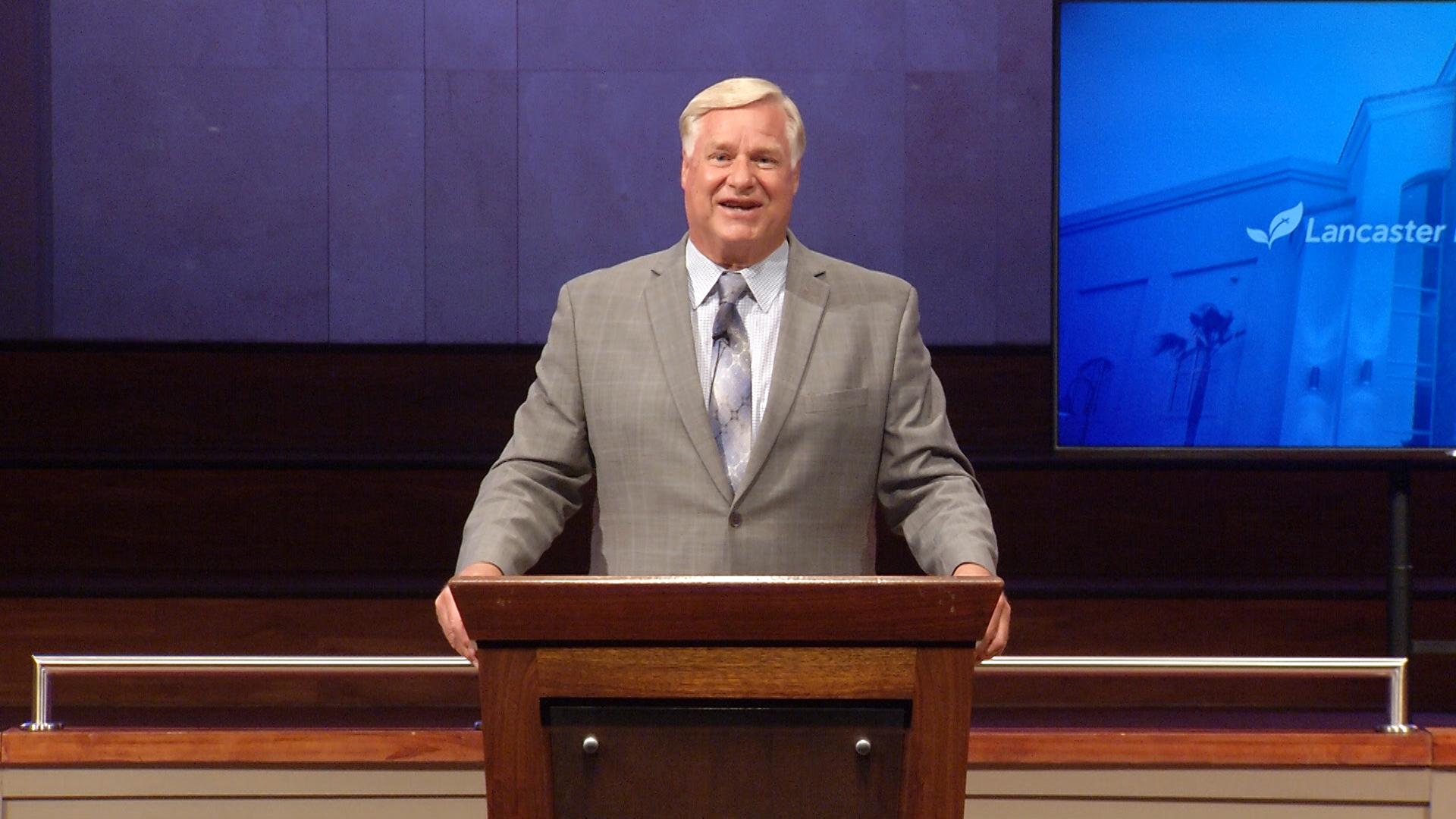 Dr. Jim Schettler: Elijah's Pity Party