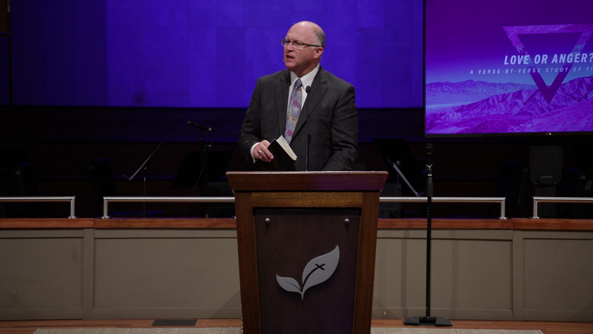 Pastor Paul Chappell: Love or Anger?