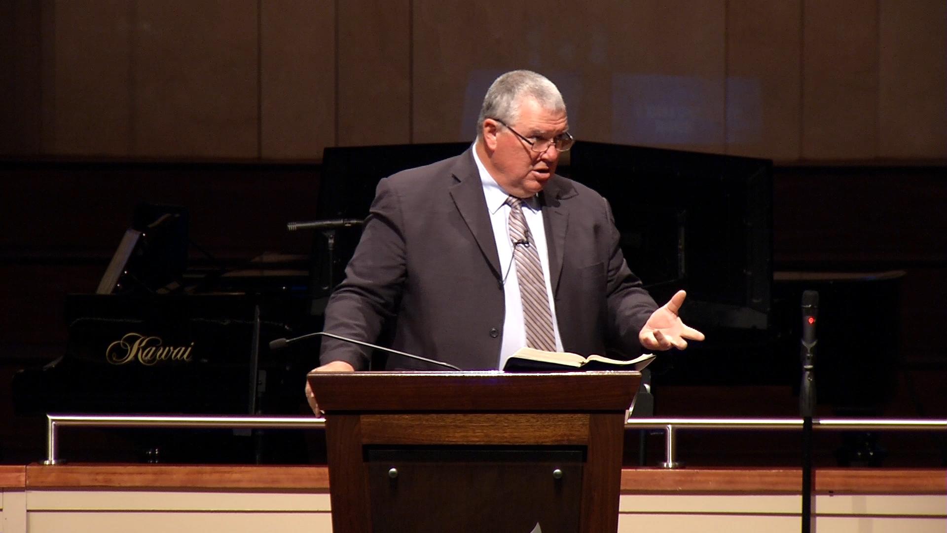 Rick Houk: Developing Grace Through Biblical Meditation